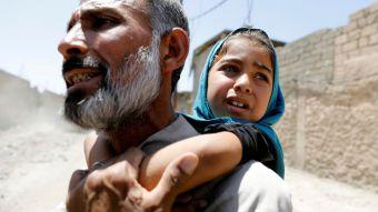 [FOTOS] Los niños de la guerra en Mosul
