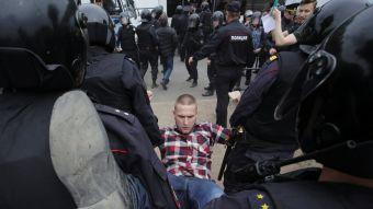[FOTOS] Rusos protestan contra la corrupción