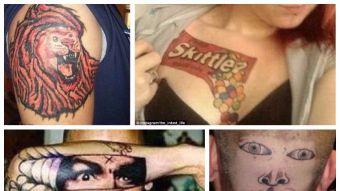 [FOTOS] 10 tatuajes que no salieron nada de bien