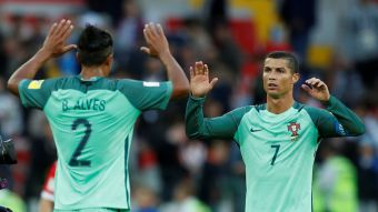 [VIDEO] Portugal con gol de Cristiano Ronaldo festeja ante Rusia en Copa Confederaciones