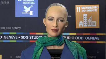 [VIDEO] Sofía, la increíble robot hiperrealista que está aprendiendo a ser humana