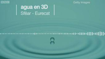 [VIDEO] ¿Cómo suena el agua en 3D?