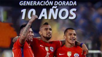 [VIDEO] Alexis Sánchez, Arturo Vidal y Gary Medel: La década del trío de oro de Chile