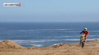 [VIDEO] Antofagasta luce en D13 motos su pista para la 1°Fecha Nacional de Motocross