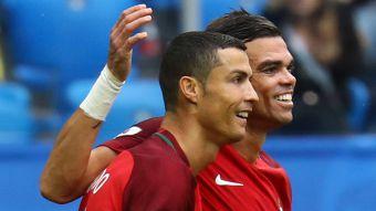[VIDEO] Cristiano Ronaldo inaugura el marcador ante Nueva Zelanda en San Petersburgo