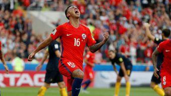 [VIDEO] Así fue el gol de Martín Rodríguez para el 1-1 de Chile ante Australia