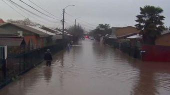 [VIDEO] Inundaciones en la Región del Maule