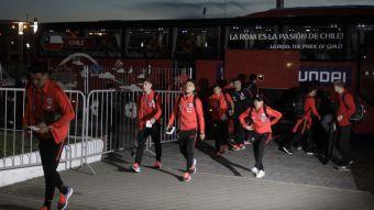 [FOTOS] Así fue la llegada de la selección chilena a Kazán