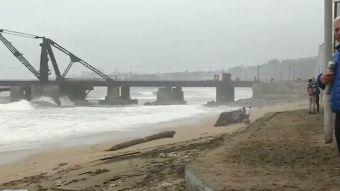 [VIDEO] La destrucción que dejó el temporal