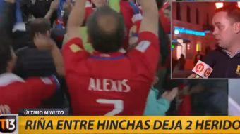 [VIDEO] Inspector de la PDI aclara riña que terminó con hinchas chilenos heridos en Moscú