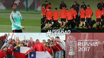 [VIDEO] DLV en la Copa: Chile apunta a Portugal y se vive duelo Alexis vs. Cristiano