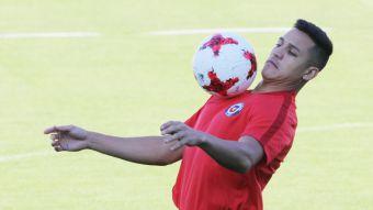 """[FOTOS] La última práctica de """"La Roja"""" antes de enfrentar a Portugal en Copa Confederaciones"""