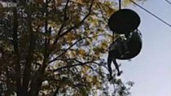 Un grupo de personas atrapa al vuelo a una niña cuando caía de una atracción en Nueva York
