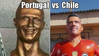 [FOTOS] Los mejores memes en la previa del partido Chile vs Portugal