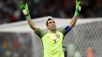 [VIDEO] La emotiva arenga de Claudio Bravo antes de la definición a penales frente a Portugal