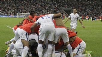 [VIDEO] Así se vivió el partido entre Chile y Portugal a ras de suelo en el Arena Kazán