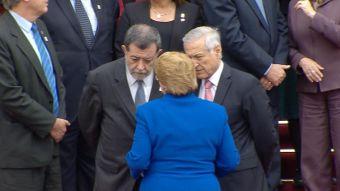 [VIDEO] Bachelet se enteró en Lima de la detención de carabineros en Bolivia