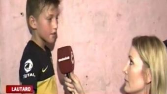 [VIDEO] El desgarrador relato de un niño con hambre que hizo llorar a la periodista