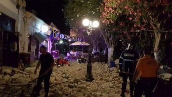 [FOTOS] Terremoto en Grecia y Turquía