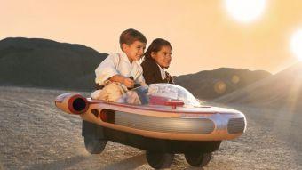 [Video] Un sueño hecho realidad: Así es el Landspeeder de Luke Skywalker para niños
