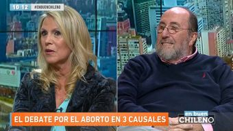 """[VIDEO] """"Es una política oportunista"""": el enfrentamiento entre Lily Pérez y Sergio Melnick"""