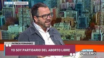 [VIDEO] Patricio Fernández y aborto: Si fuera un tema de hombres, no estaríamos hablándolo