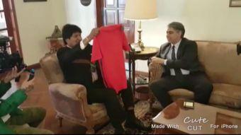 ME-O y Evo Morales