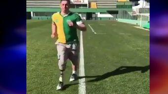 [VIDEO] Jugador sobreviviente de la tragedia del Chapecoense volvió a correr