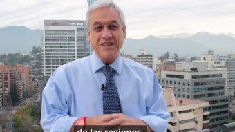 [VIDEO] El mensaje de Sebastián Piñera en el Día Internacional de los Pueblos Indígenas