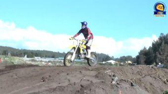 [VIDEO] Coronel se la juega con nueva pista para la práctica del Motocross