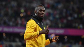 [VIDEO] Usain Bolt celebró en la pista de Londres... pero en la de baile