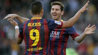 Una locura: Manchester City juntaría a Messi y Alexis Sánchez por 376,5 millones de euros