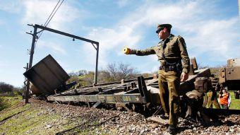 [FOTOS] Las imágenes que dejó el descarrilamiento de un tren con basura en Til Til