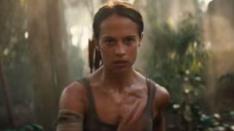 "Alicia Vikander como ""Lara Croft"""