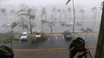 [VIDEO] Así se vivió el paso del huracán María por Puerto Rico