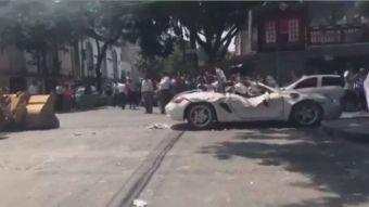 [VIDEO] El momento exacto del terremoto en México registrado en 7 videos de redes sociales