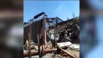 [VIDEO] El día dos del devastador terremoto que azotó al centro de México