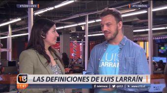 [VIDEO] La batalla por el distrito 10: Las definiciones de Luis Larraín