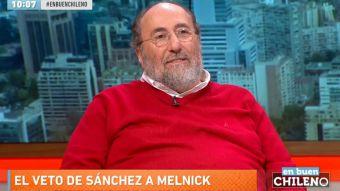[VIDEO] Sergio Melnick responde al veto de Beatriz Sánchez para asistir a En Buen Chileno