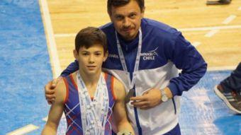 [VIDEO] Pedro Alemparte: La nueva promesa de la gimnasia chilena tiene solo 12 años