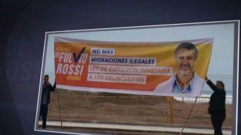 [VIDEO] Polémica campaña de Rossi en Tarapacá