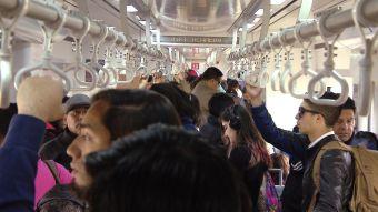 [VIDEO] Colapso en el tren expreso