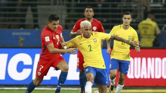 [FOTOS] Las mejores imágenes del partido entre Brasil y Chile