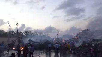 [VIDEO] Atentado explosivo en Somalia