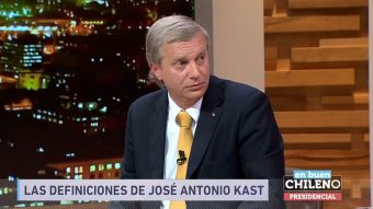 [VIDEO] José Antonio Kast: Hay que darle más poder de fuego a Carabineros