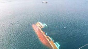 [VIDEO] ¿Cómo reflotarán el barco salmonero?