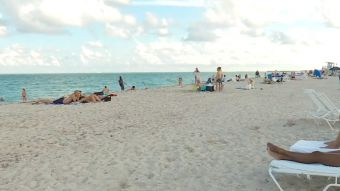 [VIDEO] Dramática medida en playas de Miami por delincuencia