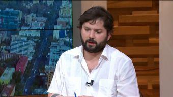 [VIDEO] Las definiciones de Boric sobre las ideas centrales de la franja de Beatriz Sánchez