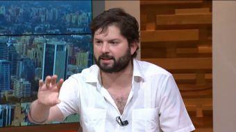 [VIDEO] Boric: Estoy acá también representando a Beatriz Sánchez y las ideas que promueve