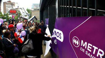 [FOTOS] Así fue la apertura a público de la Línea 6 del Metro de Santiago